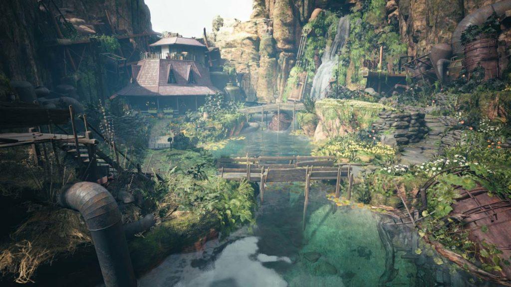 La casa de Aerith en el Sector 5.