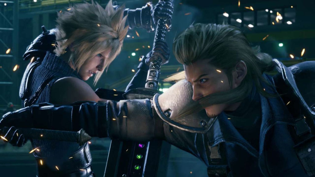 Final Fantasy 7 Remake - Roche Vs Cloud