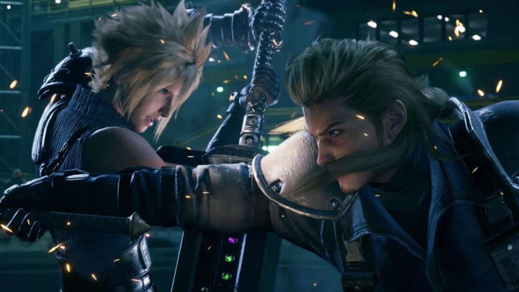 Final Fantasy 7 Remake - Roche Vs Cloud