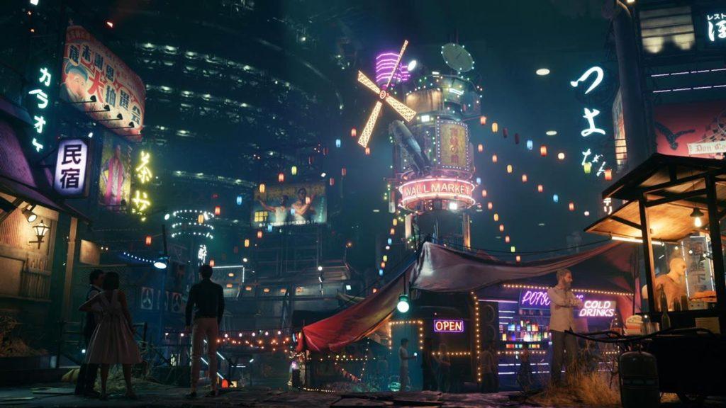 Final Fantasy 7 Remake - Mercado Amurallado