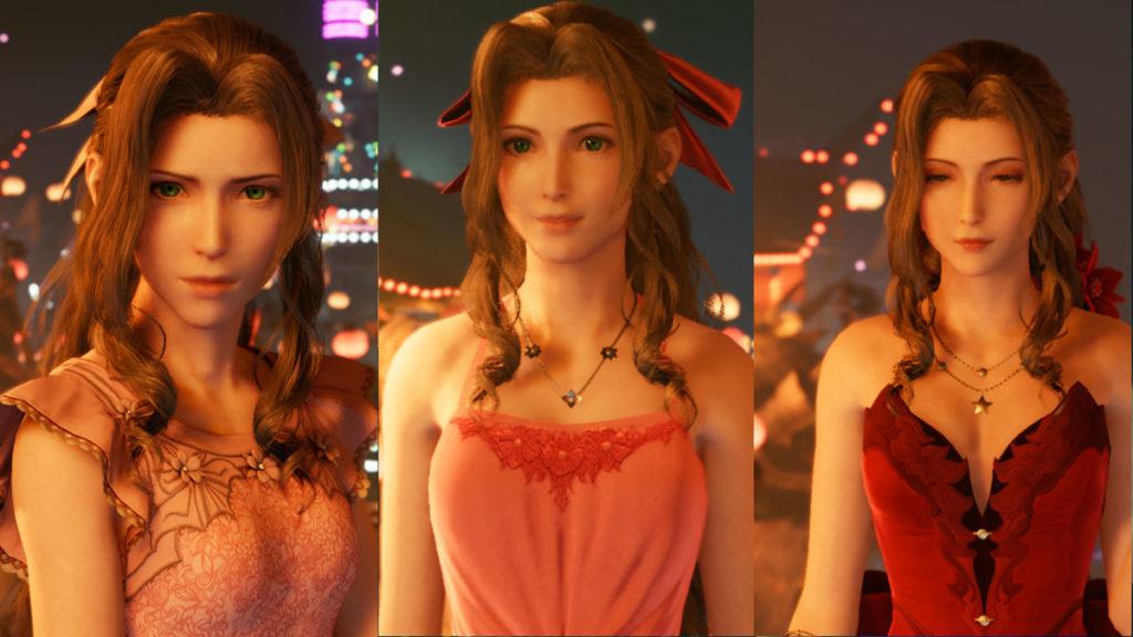 Final Fantasy 7 Remake - Los sub-quests y tus elecciones tienen efectos en la historia, como qué vestido usarán tus compañeras.