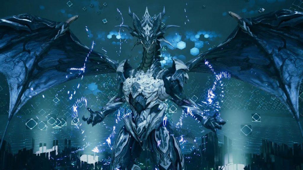 Final Fantasy 7 Remake - Bahamut: Una de las invocaciones más fuertes del juego.