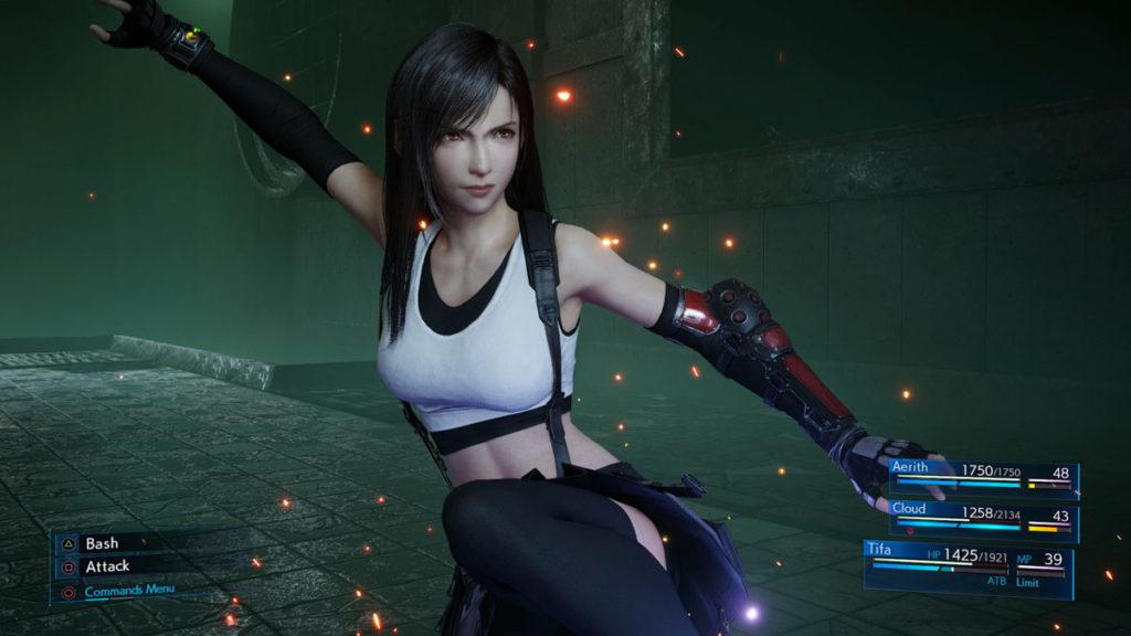 Final Fantasy 7 Remake - El estilo de combate de Tifa es extremadamente satisfactorio.