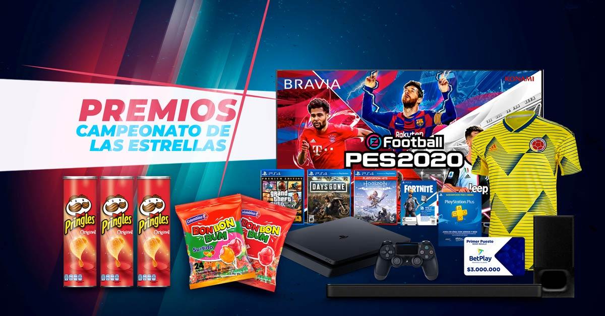 Torneo de las Estrellas PES 2020 - Premios del Torneo.