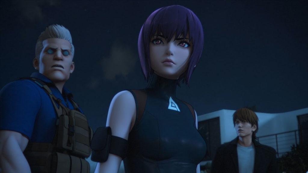 Ghost in The Shell versión 2020 de Netflix, uno de nuestros recomendados anime 2020.