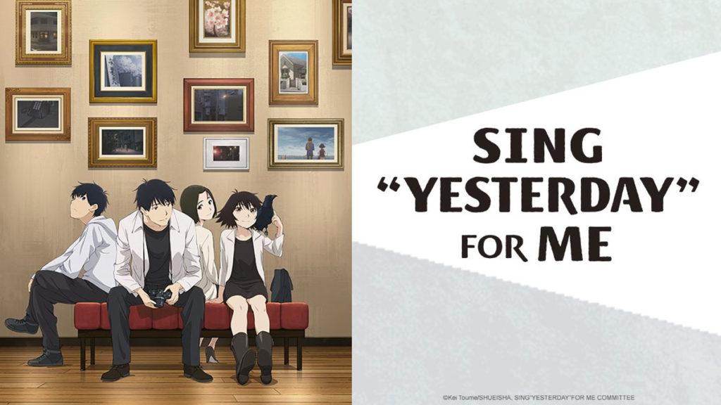 """Sing """"Yesterday"""" For Me, uno de nuestros recomendados anime 2020."""