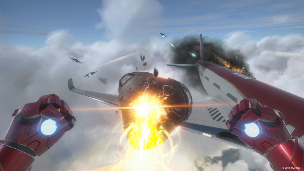 Marvel's Iron Man VR - ¡Enfréntate con un avión!