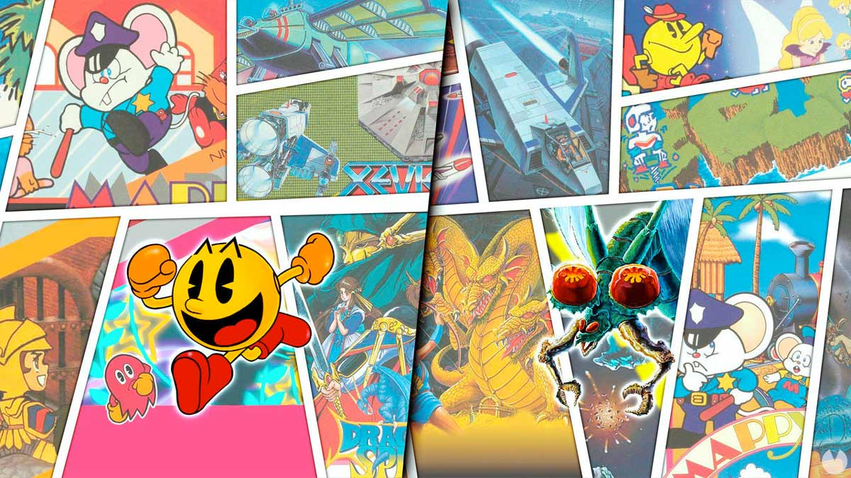 Namco Museum Archives Vol. 1 & Vol. 2