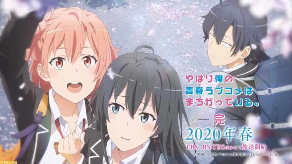 Oregairu Temporada 3