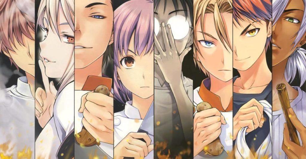 Recomendados Anime de Verano 2020 - Shokugeki No Soma