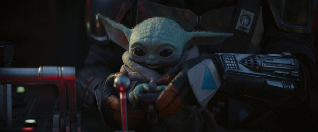 Imperdibles Baby Yoda y Mando en The Mandalorian para todos los fanáticos de Star Wars.