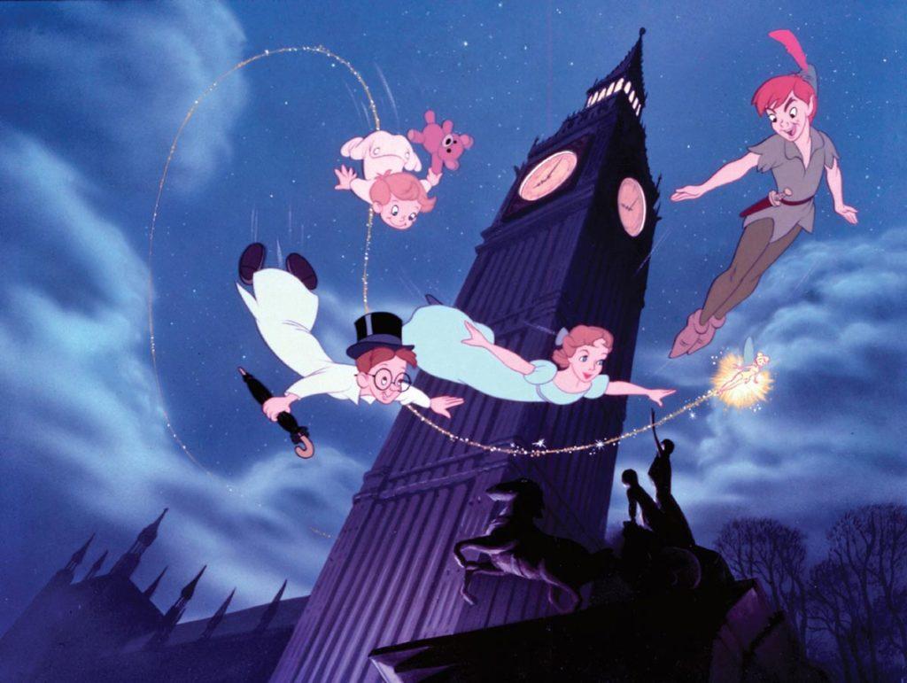 Peter Pan, uno de los muchos clásicos animados de Disney que llegarán en noviembre a su plataforma de streaming.