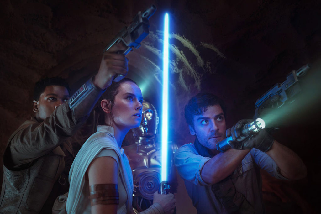 Toda, absolutamente TODA la saga de Star Wars llega por primera vez completa a un servicio de streaming.