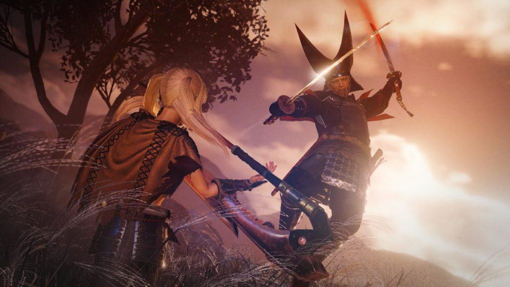 Nioh 2 - The Tengu's Disciple DLC - Ataque