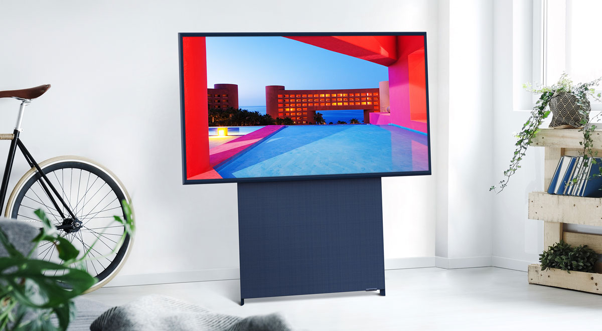The Sero el nuevo televisor vertical de Samsung.