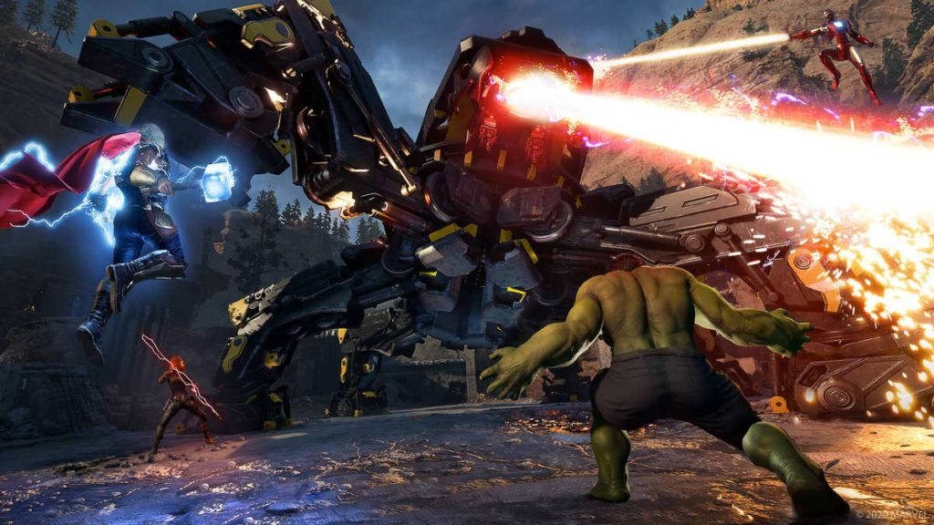 Marvel's Avengers - Lucha contra un jefe final