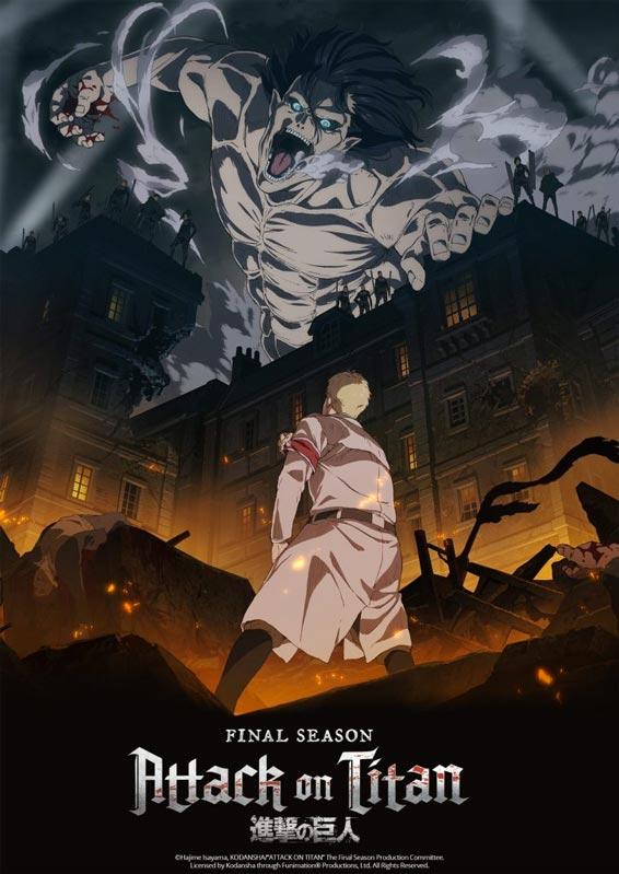 Nuestros recomendados de Anime de Invierno 2021: Attack on Titan.