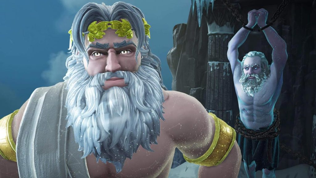 Zeus y Prometeo cuentan la historia de Immortals: Fenyx  Rising