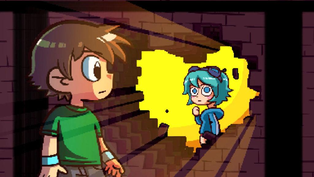 Scott Pilgrim Vs The World - Scott meets Ramona